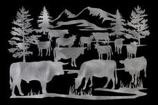 Cattle Stock Art