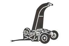 Chaff Cutter Silhouette DXF File