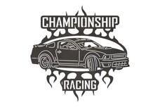 Championship Racing Sign