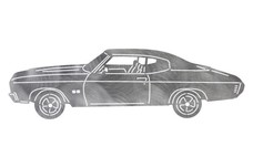 Chevrolet Chevelle DXF File