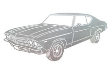 1969 Chevy Chevelle DXF File