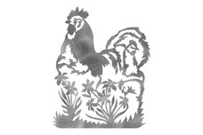 Two Chickens DXF File