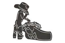 Cowboy Child DXF File