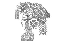 Chinese Headdress Stock Art