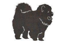 Chow Chow DXF File