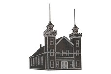 Church Building DXF File