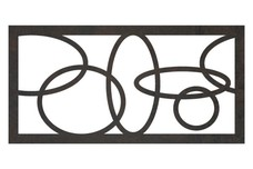 Circles Fence Topper