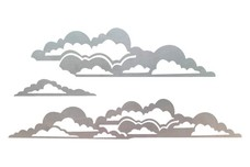 Fluffy Clouds DXF File