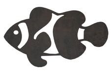 Clownfish Side-Silhouette DXF File