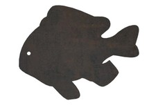 Clownfish Silhouette DXF File