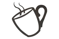 Steaming_Coffee DXF File