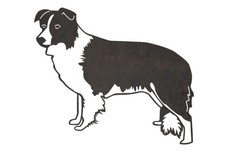Border Collie DXF File
