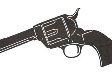 Colt Revolver DXF File