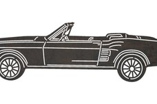 Top Down Convertible DXF File