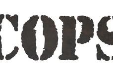 Cops In Stencil DXF File
