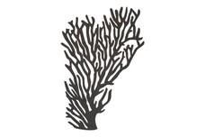 Coral Silhouette DXF File