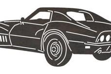 Corvette Side-n-Rear DXF File