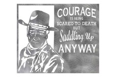 Courage Quote Wall Art