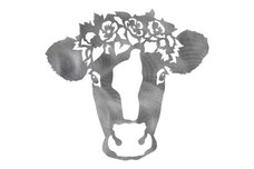 Cow Wearing Crown DXF File