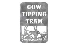 Cow Tipping Wall Art