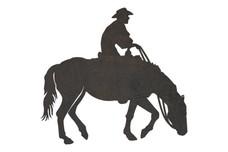 Cowboy Side View DXF File