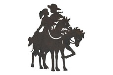 Cowboy and Cowgirl DXF File