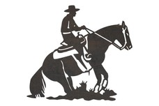 Performing Cowboy DXF File