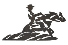 Cowboy Painting DXF File