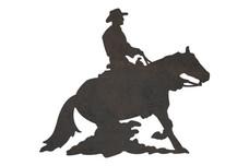 Cowboy Riding DXF File