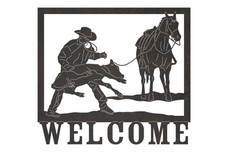 Cowby Welcome Sign