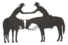 Cowboys Greeting DXF File