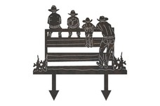 Cowboys Yard Stake