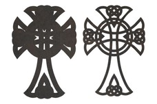 Knotted Crosses DXF File