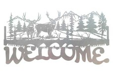 Crosscut Saw Welcome Sign