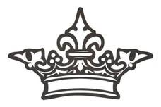 Ornate Crown DXF File