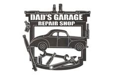 Dad'S Garage Repair Shop Sign