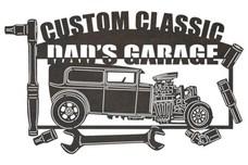 Dad's Garage Sign