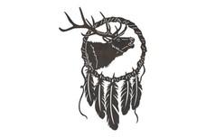 Bugling Elk Dreamcatcher