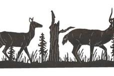 Deer Driveway Topper