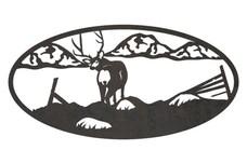 Deer Oval Insert