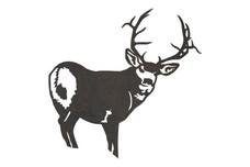 Glancing Back Deer DXF File