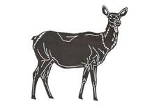 Female Deer DXF File