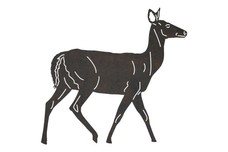White-Tailed Deer DXF File
