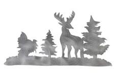 Standing Deer DXF File