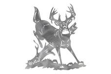Jumping Deer DXF File