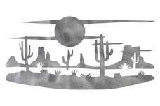 Night Desert Scene DXF File