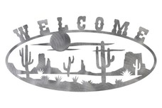 Desert Welcome Sign