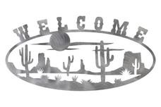 Desert Welcome Sign