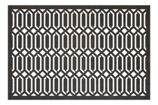 Diamond Pattern Privacy Screen