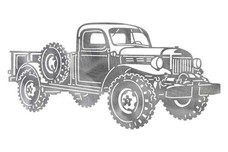 Dodge Powerwagon Stock Art